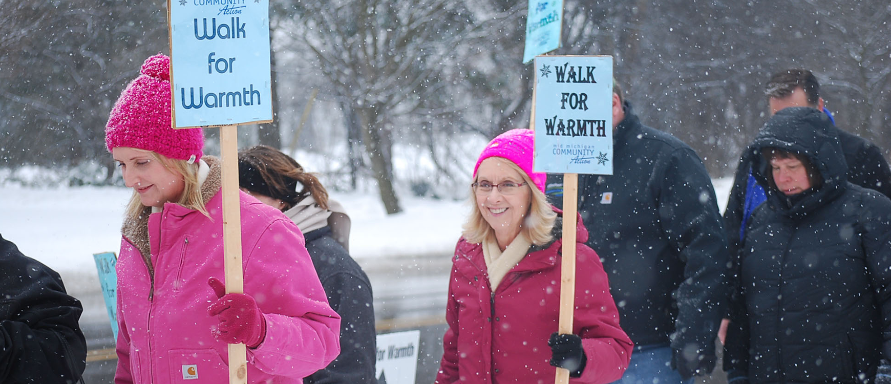 Get involved with Walk for Warmth events and help us heat our communities!