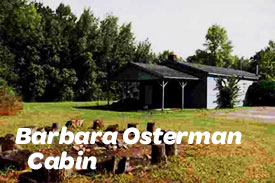 Barbara Osterman Cabin