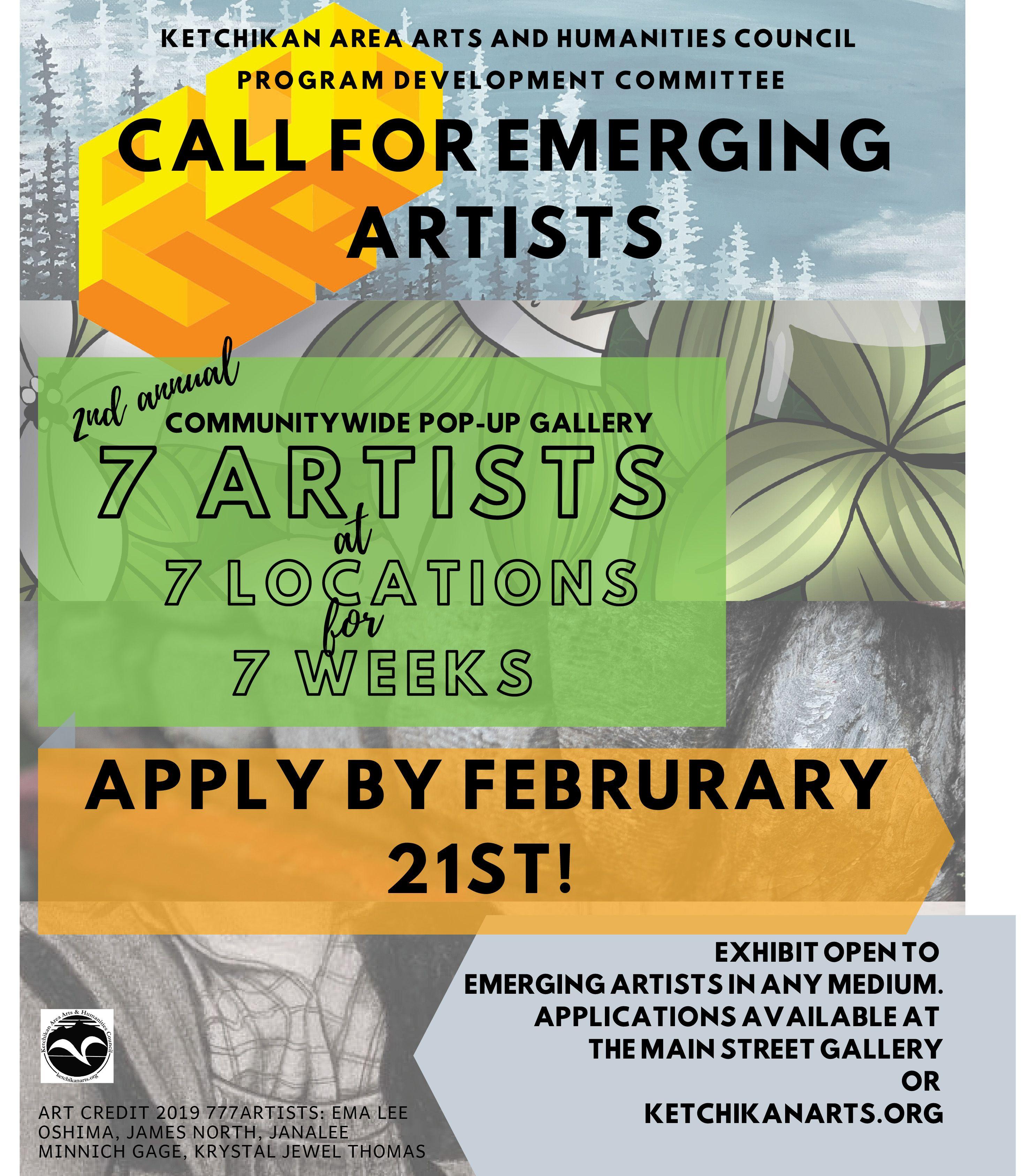 Pop-Up Gallery Application Deadline