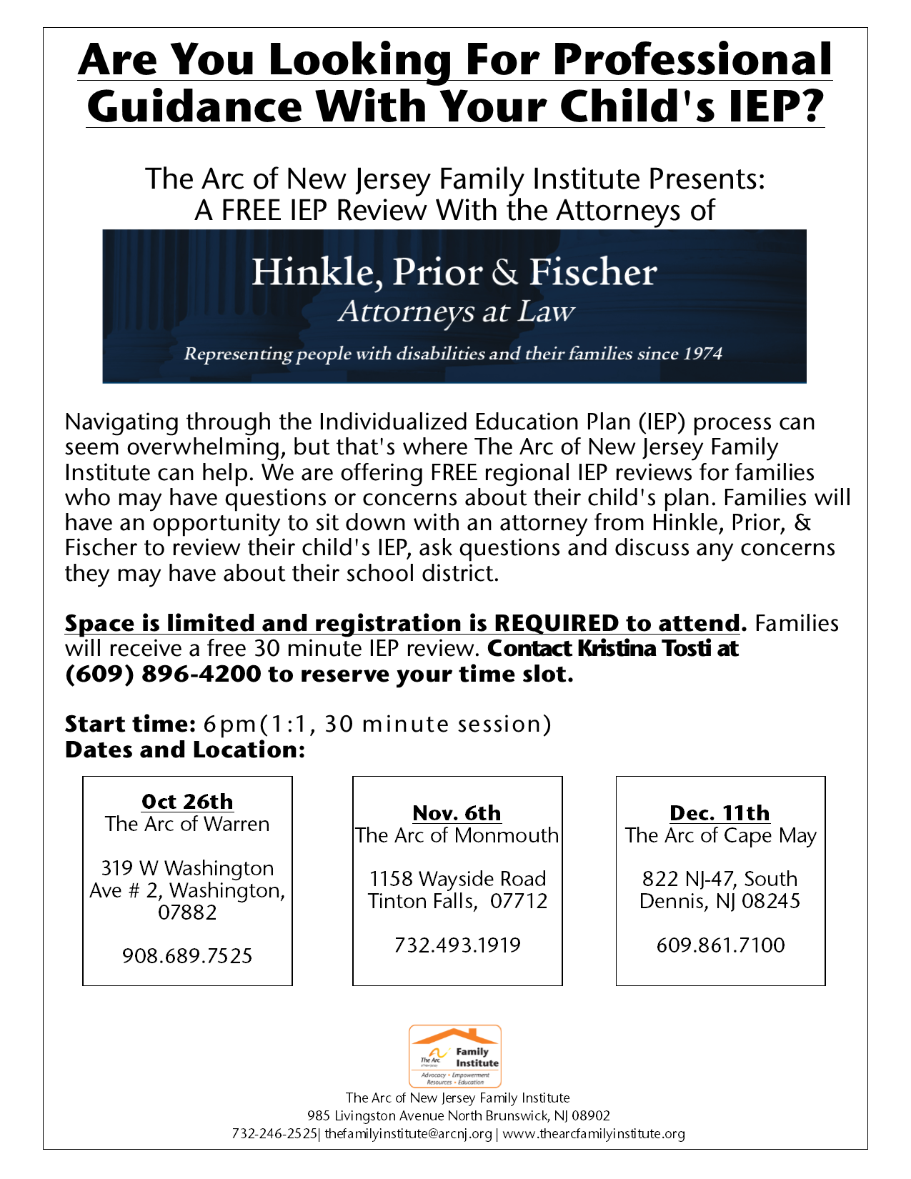 Are You Looking For Professional Guidance With Your Child's IEP?