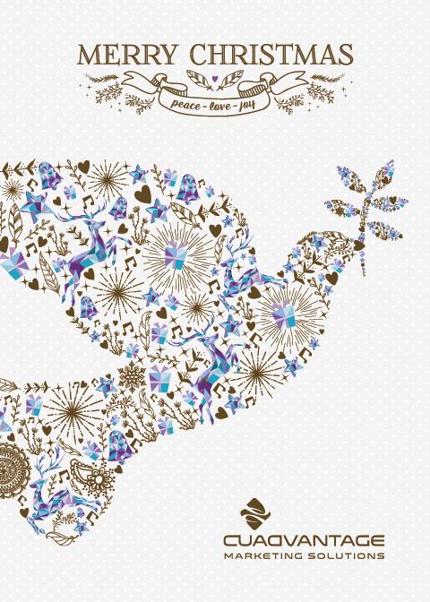 Holiday Card (dove)