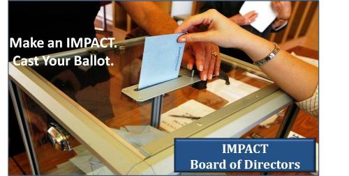 IMPACT Board of Directors Election