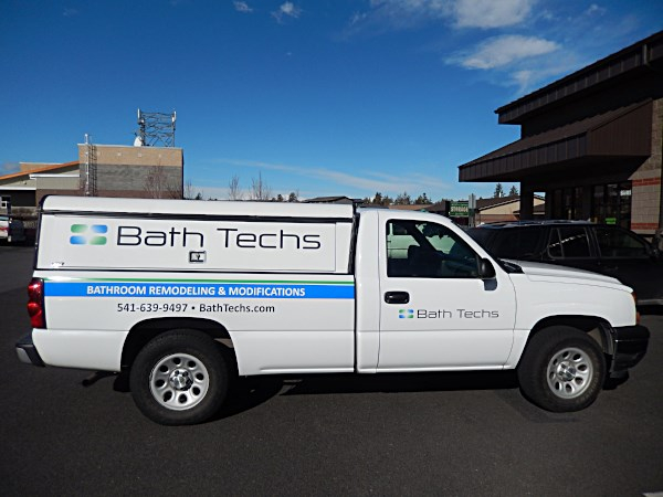 Vehicle Vinyl Lettering in Bend Oregon