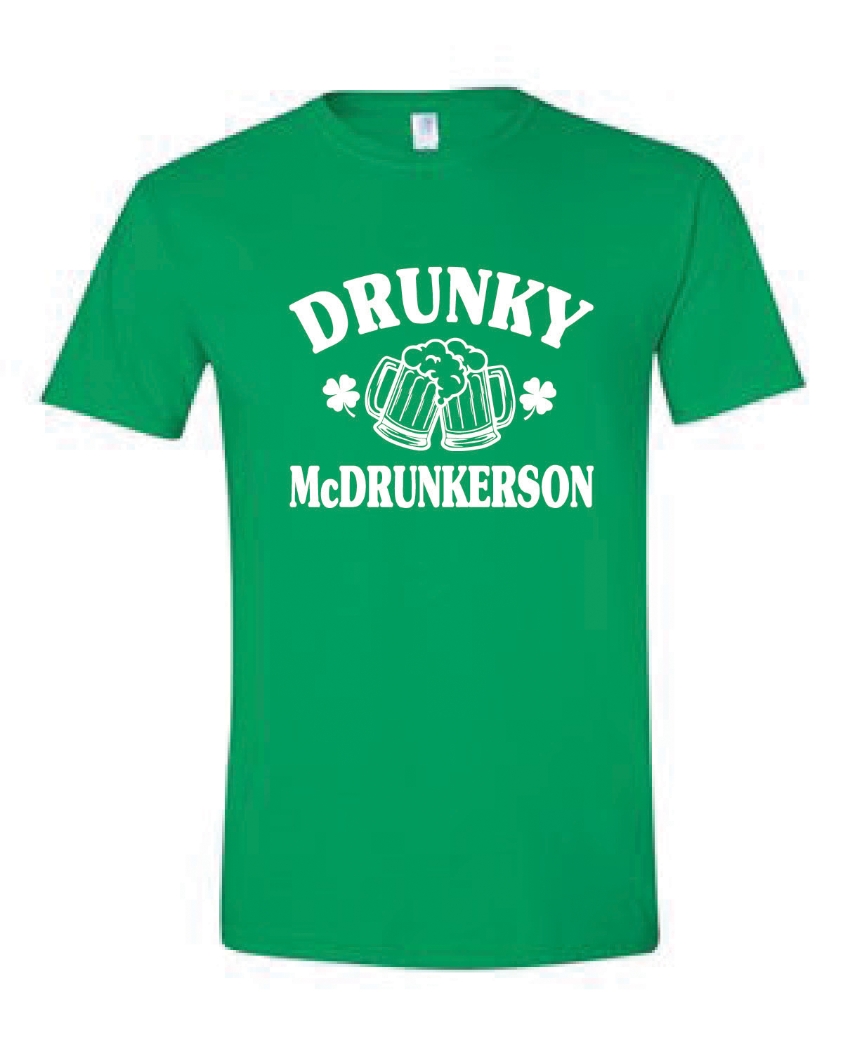Short Sleeve Softstyle Tee (McDRUNKERSON)