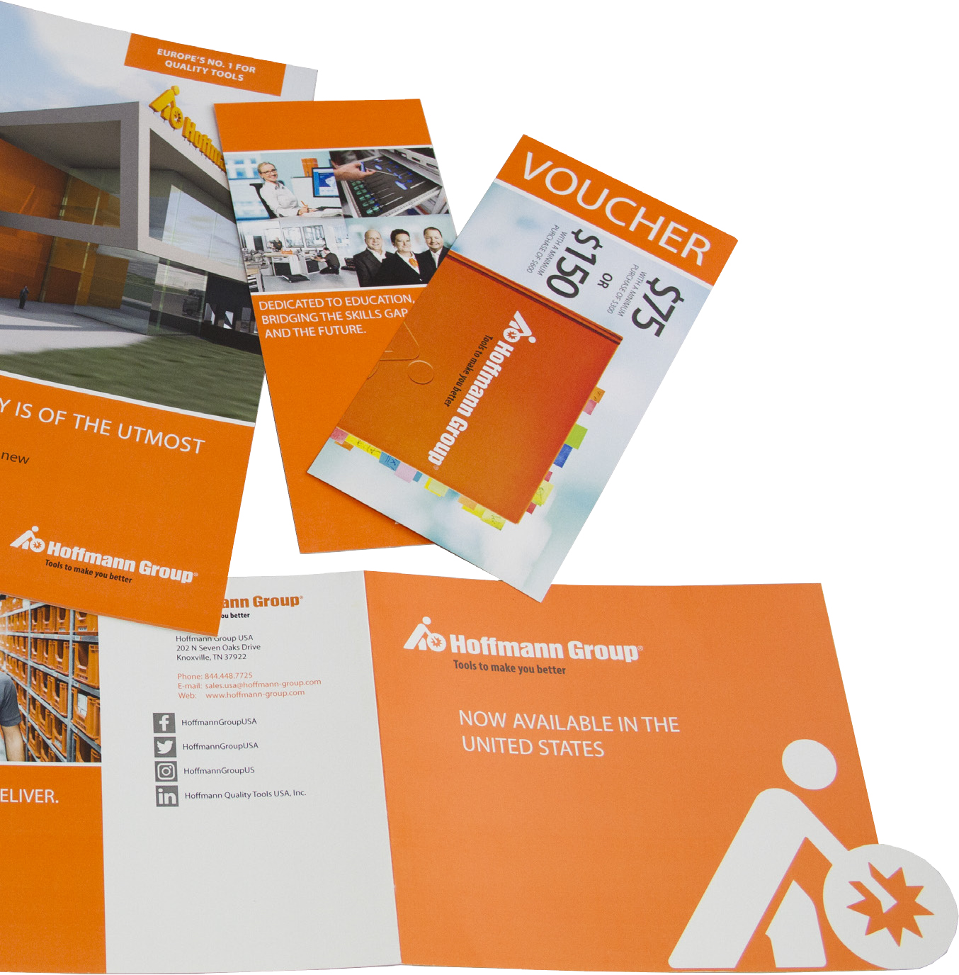 Xerox Case Study - 5th Color Orange