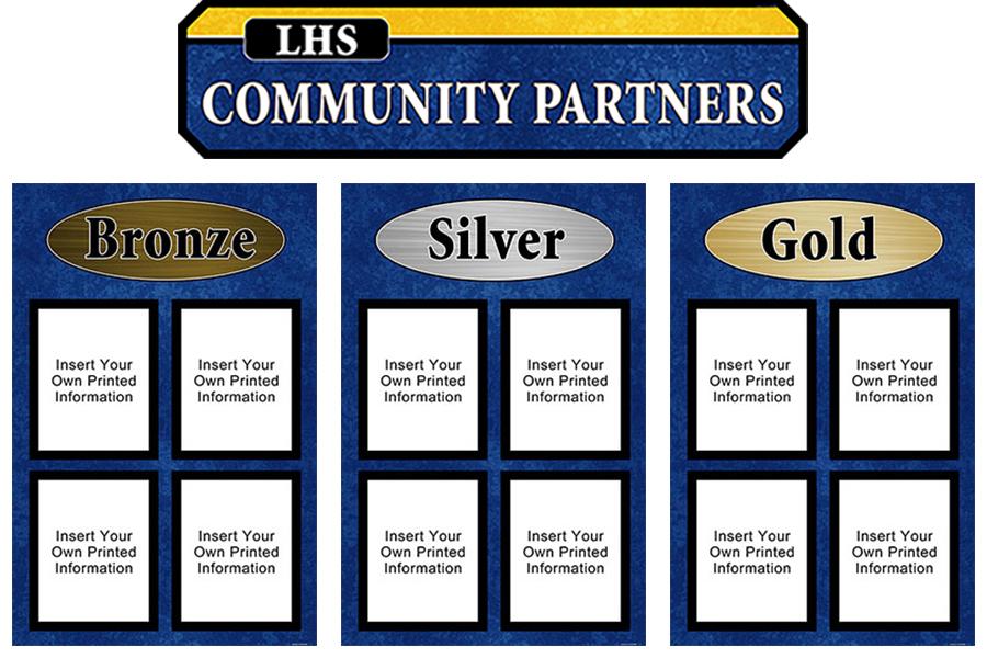 Community Partners Display Set