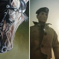 """""""The World According to Joe"""" & """"Equine Expressionism & Other Works"""" Exhibit"""