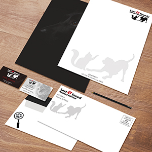 Request an estimate for printing brand identity / stationery.