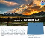 Critical Thresholds, Extreme Weather, and Building Resilience: Boulder, CO, USA
