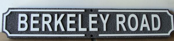M17050 - Carved and Sandblasted Road Name Sign, Berkeley Road
