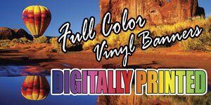 vinyl banners digital and cut vinyl