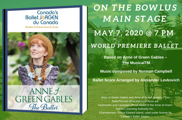 Special Event: Anne of Green Gables-The Ballet