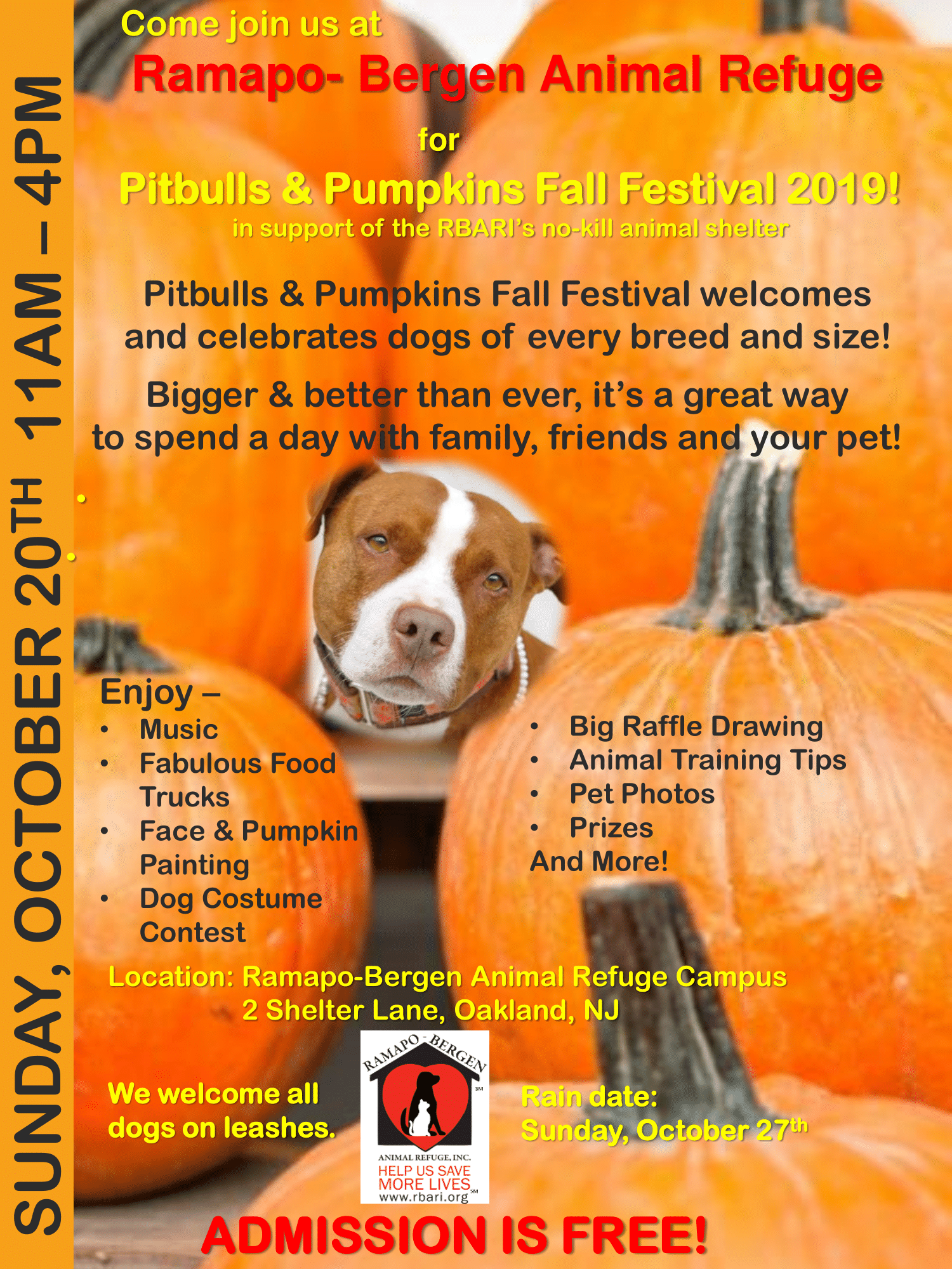 Pitbulls & Pumpkins Fair