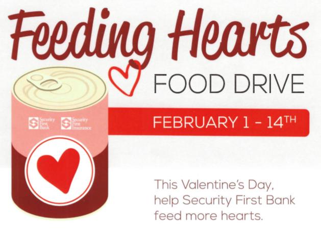 Feeding Hearts Food Drive