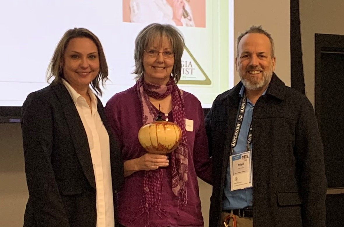 Georgia Tree Council Executive Director Awarded Kim Coder Education Award from GAA