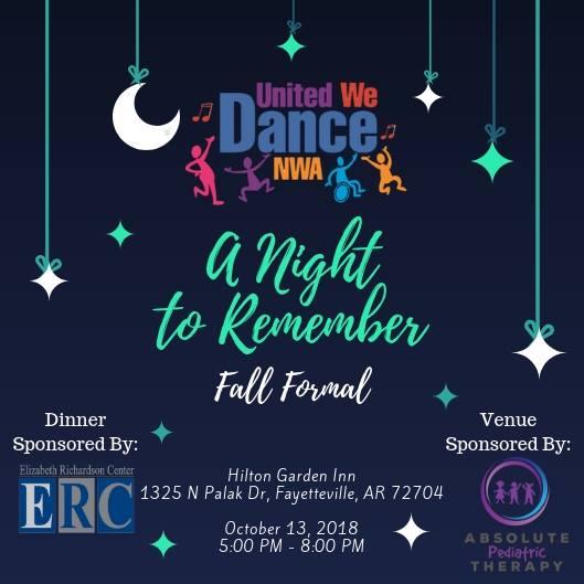 United We Dance NWA Fall Formal