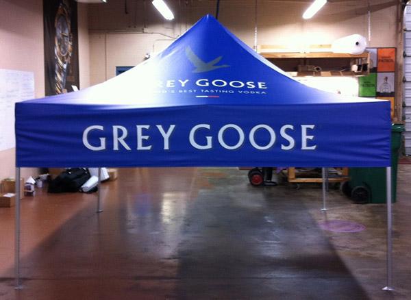 Grey Goose Tent