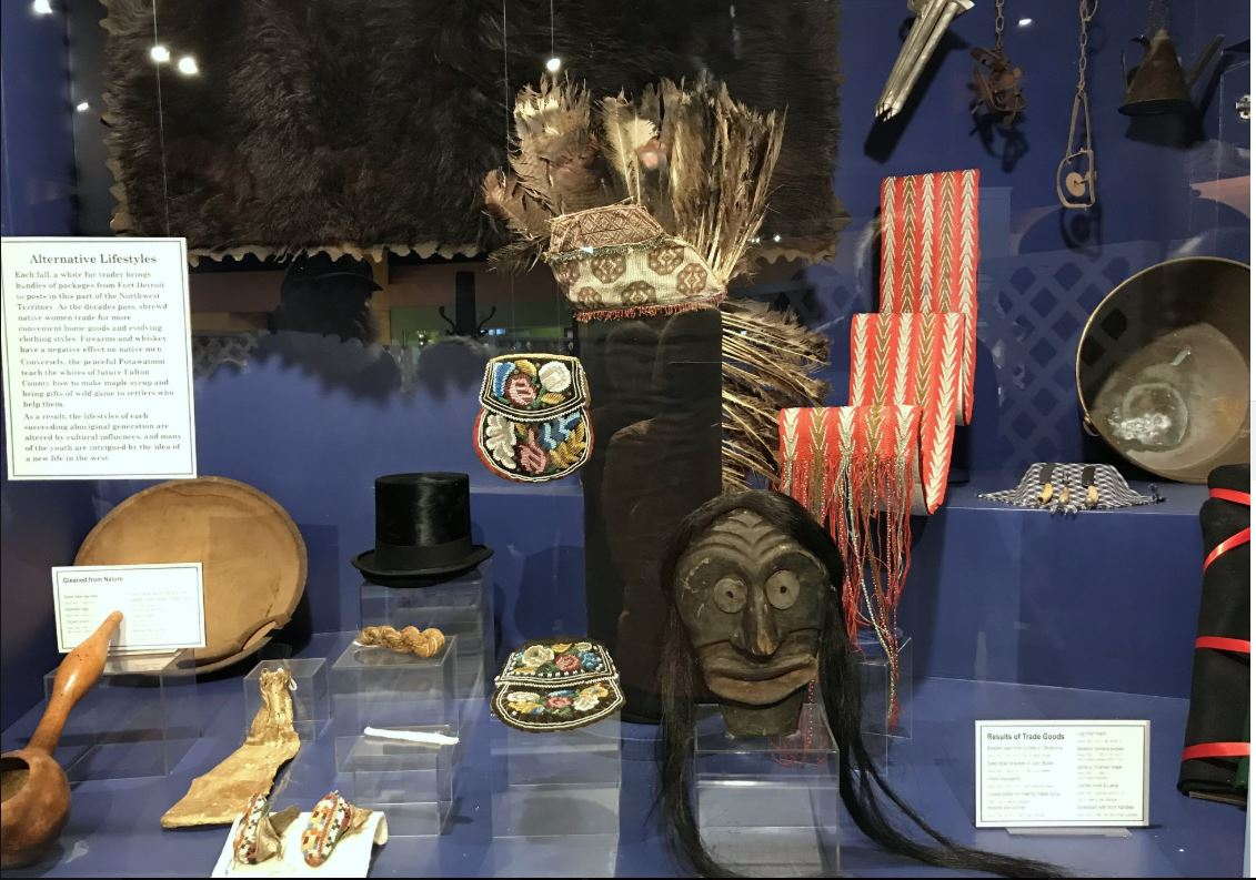 ...and American Indian Artifacts.