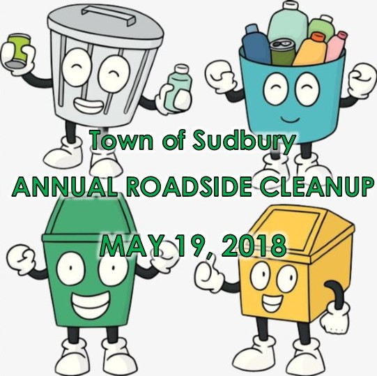 Sudbury's Annual Roadside Cleanup