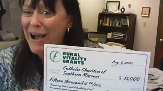 IN THE NEWS - Catholic Charities of Southern Missouri awarded $15,000 Rural Vitality Grant for Rural Home Repairs
