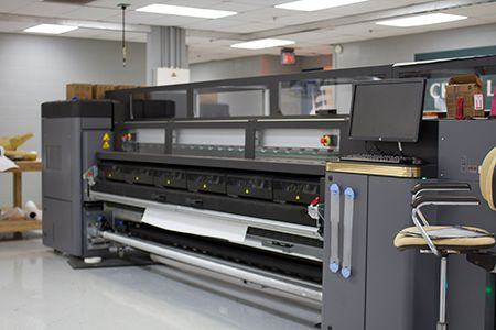 HP3100 Latex Roll-to-Roll Printer