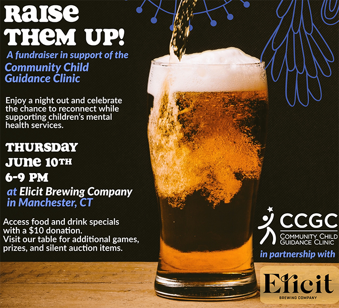 A fundraising event at Elicit Brewery in support of children's mental health and special education services.