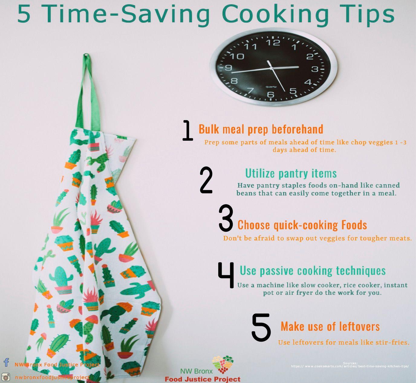 5 Time-Saving Cooking Tips