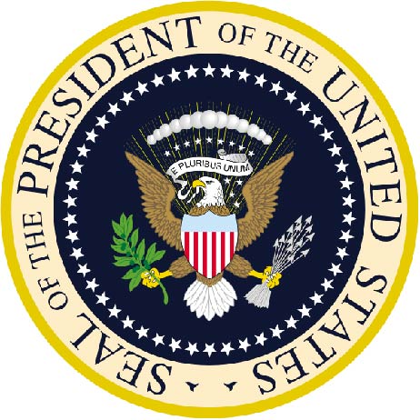 U30110 - Carved 3D Wall Plaque of the Seal of the President of the United States