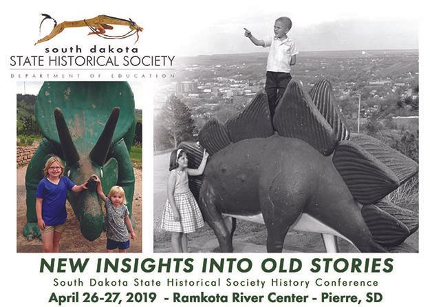 State Historical Society Annual History Conference April 26-27 in Pierre