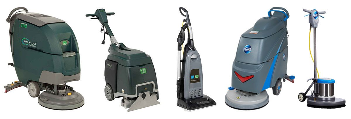 Various Cleaning Equipment