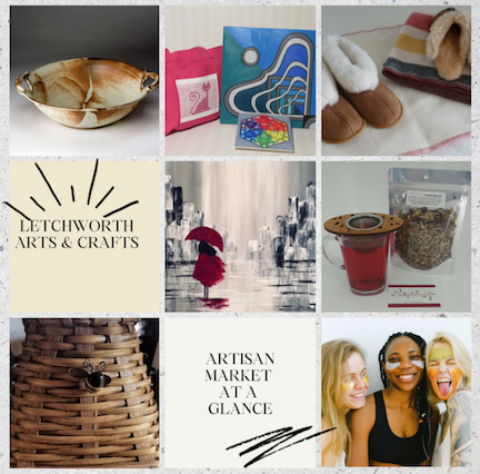 Letchworth Arts & Crafts Show Artisan Market