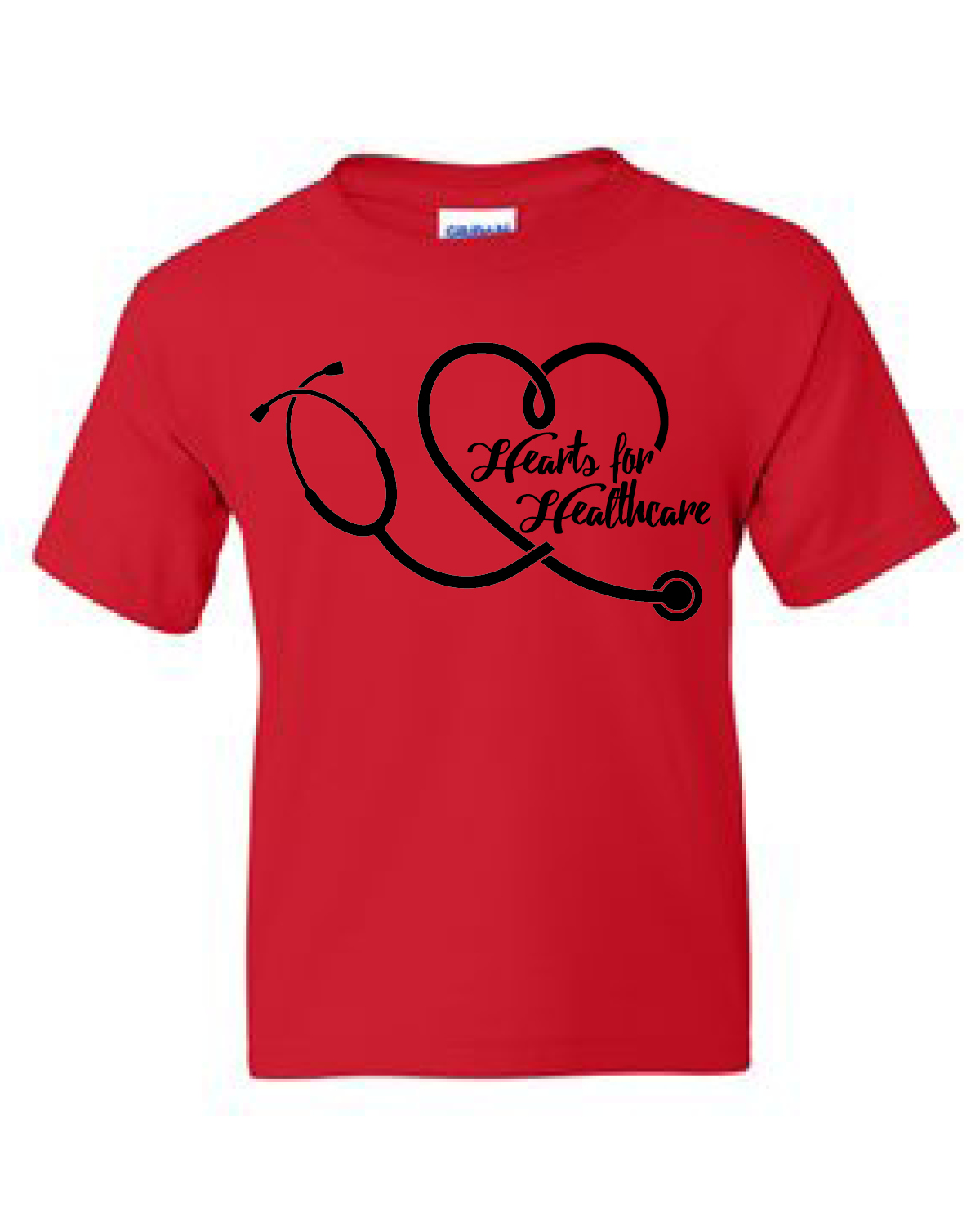 HEARTS FOR HEALTHCARE (YOUTH RED)
