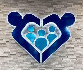 Halo Lit 3D Logo