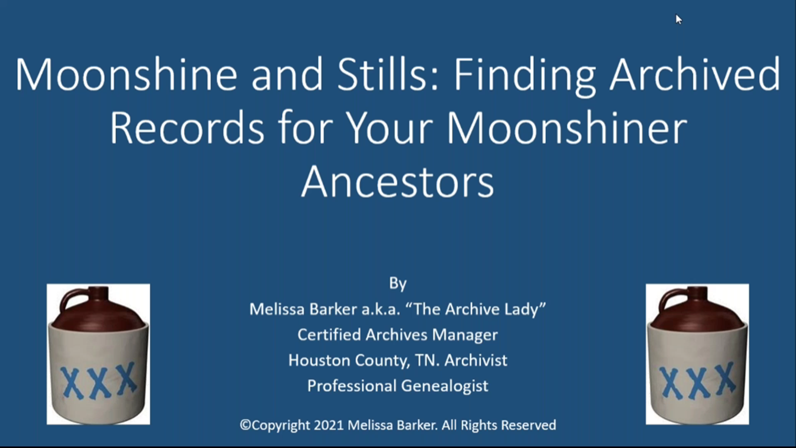 Moonshine and Stills: Finding Archived Records for Your Moonshiner Ancestor