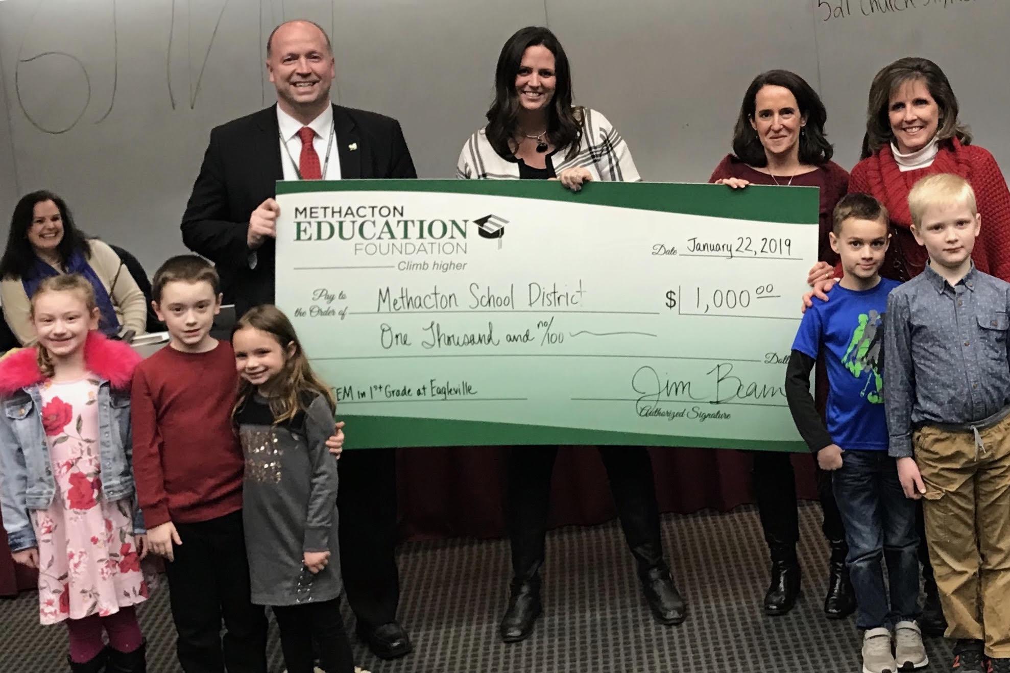 Foundation Awards $1,000 for STEM at Eagleville