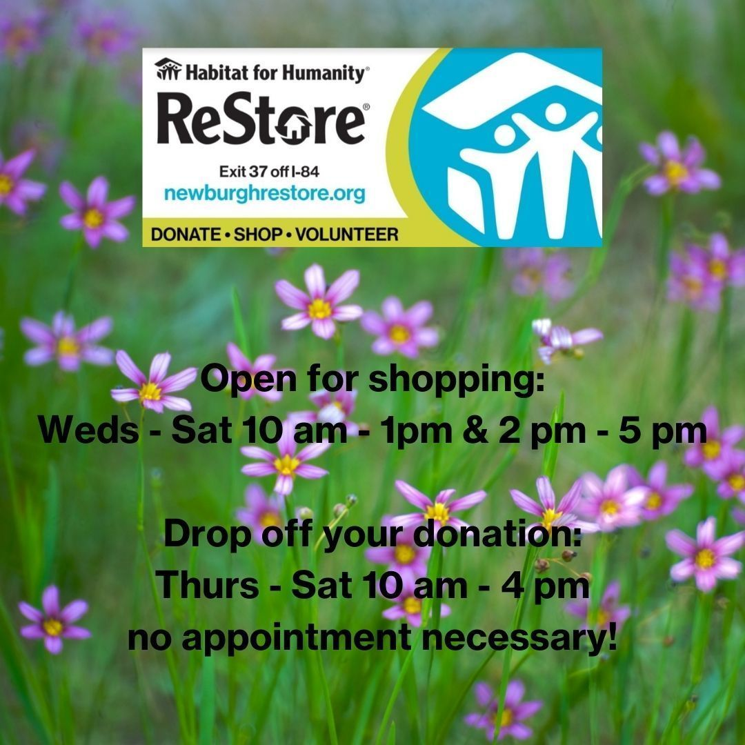 ReStore Shopping & Donation Hours