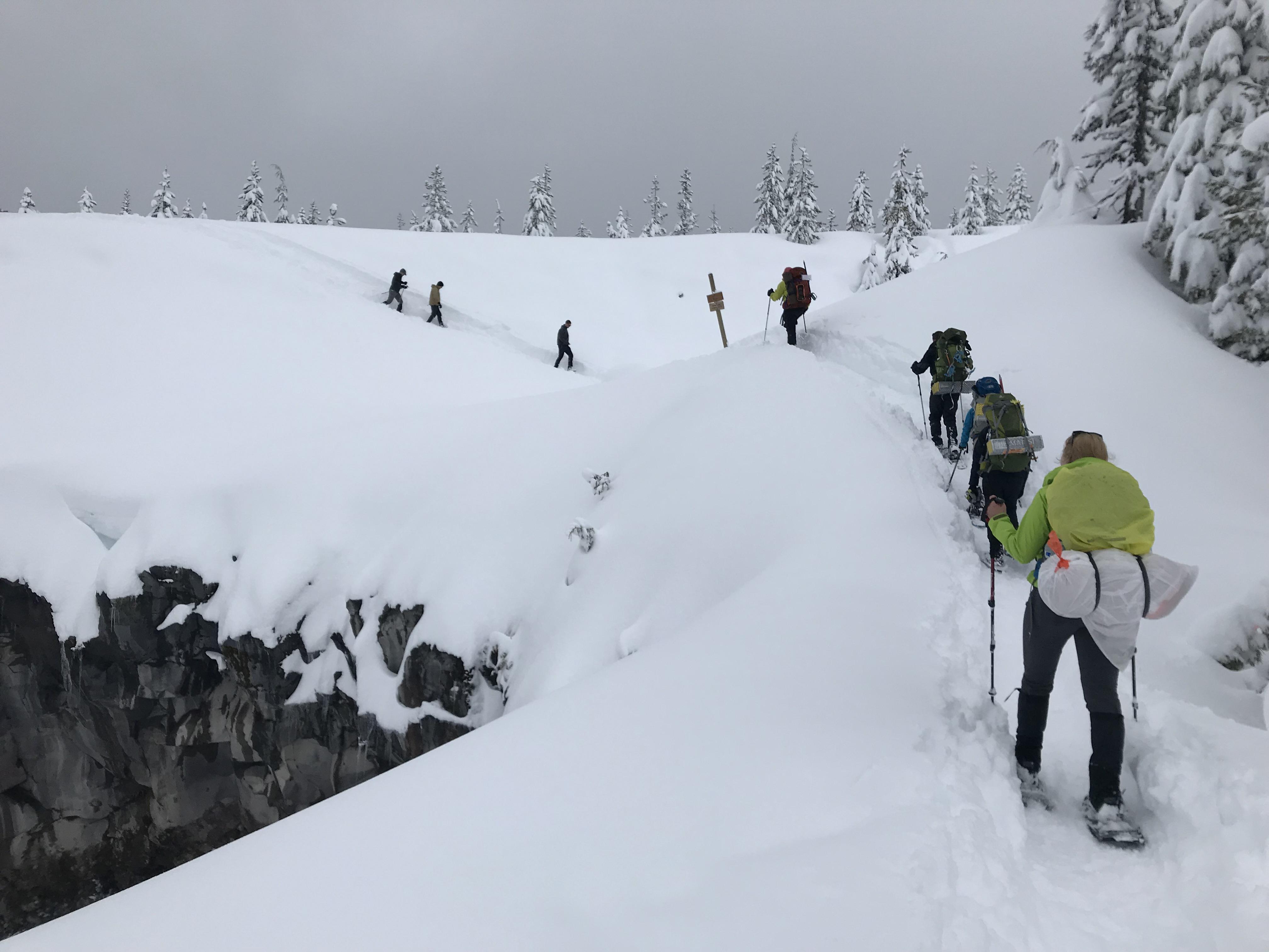 Winter Overnight & Summit Climb