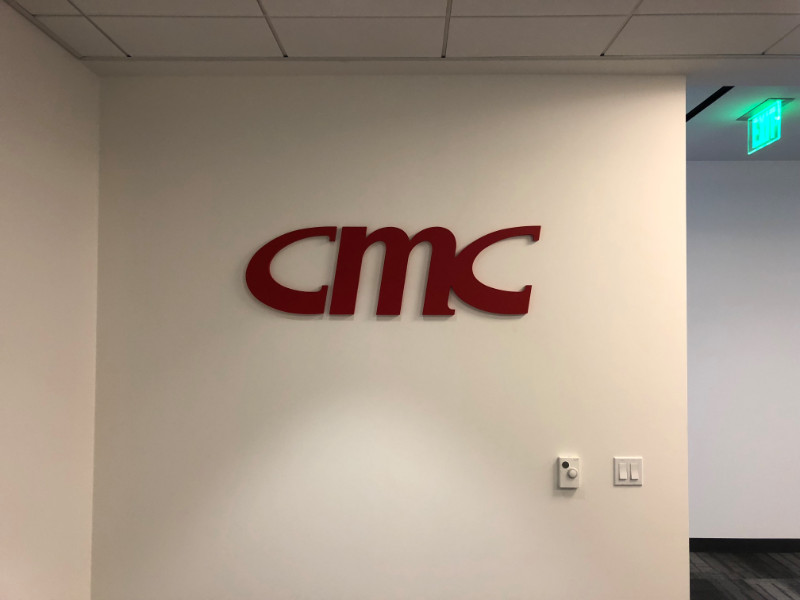 3D Letter Logo Lobby Signs Orange County CA