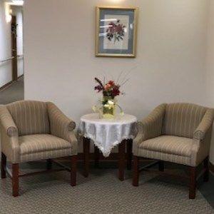 Indoor Seating Area