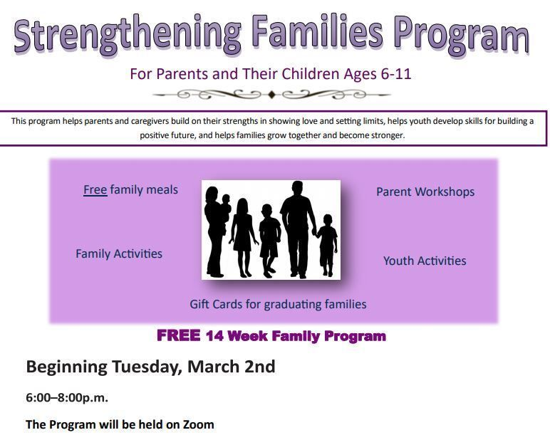 Strengthening Families (VIRTUAL)