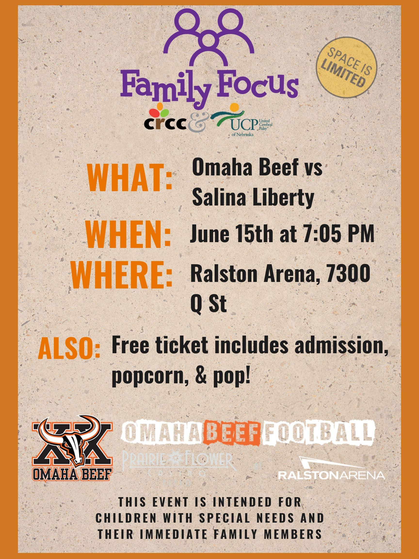 Family Focus: Omaha Beef