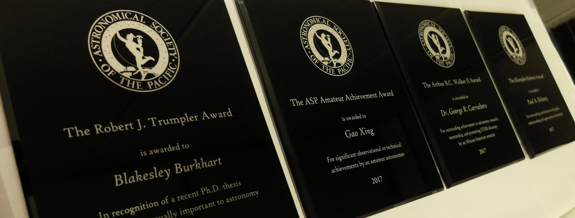 The Astronomical Society of the Pacific Announces Its 2018 Award Recipients for Astronomy Research and Education