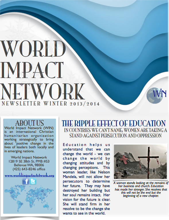 Winter 2013/14 Newsletter