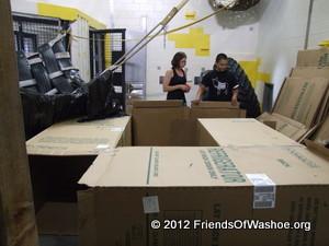 Setting up a Cardboard Maze