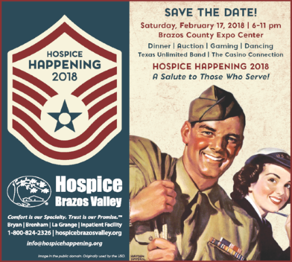 Hospice Happening 2018: A Salute to Those Who Serve!