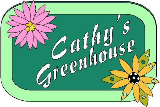 GA16716 - Design of Carved Wood or HDU Sign for Greenhouse with Owner's Name and Carved Flowers