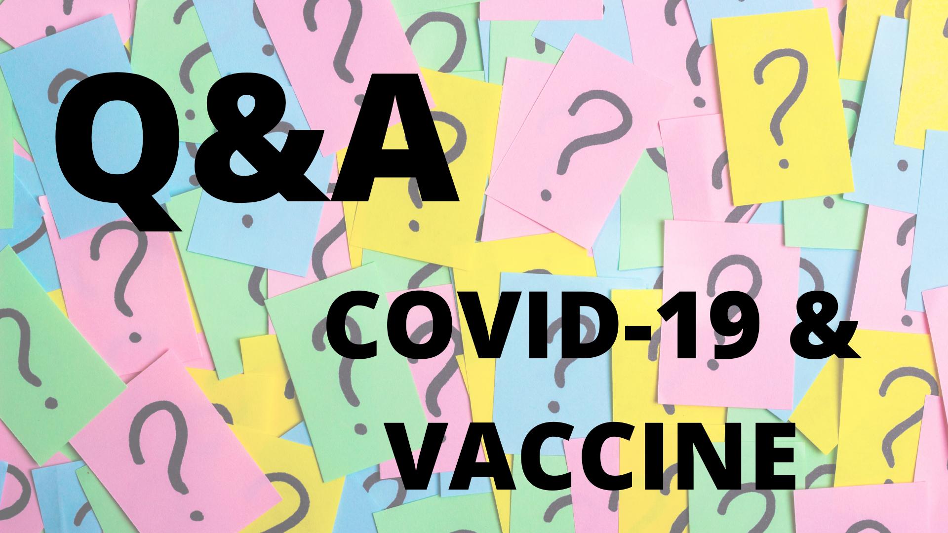 Covid-19 & Vaccine Q&A (bilingüe)