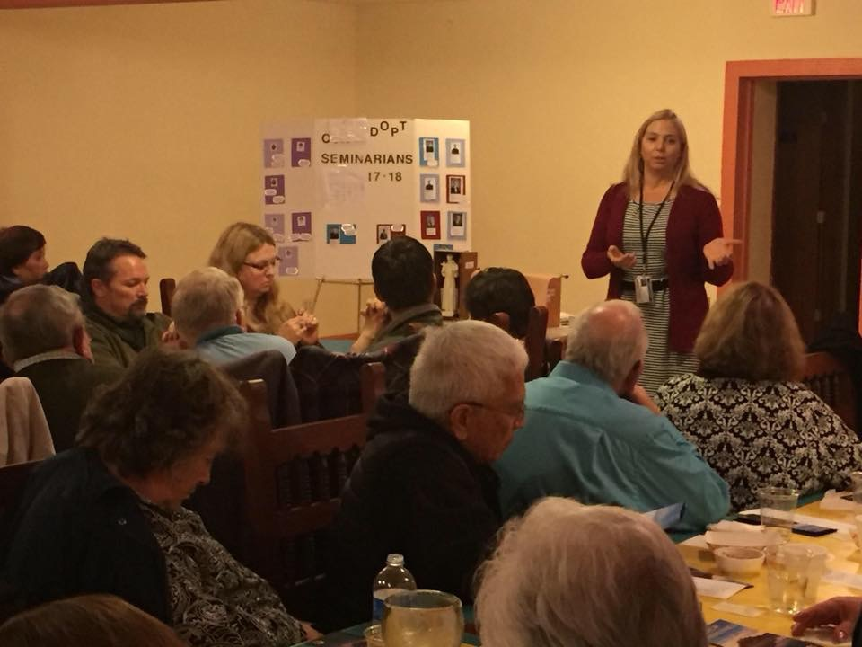 Speaking at the Serra Club Tri-Cities
