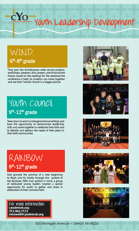 Youth Leadership Poster
