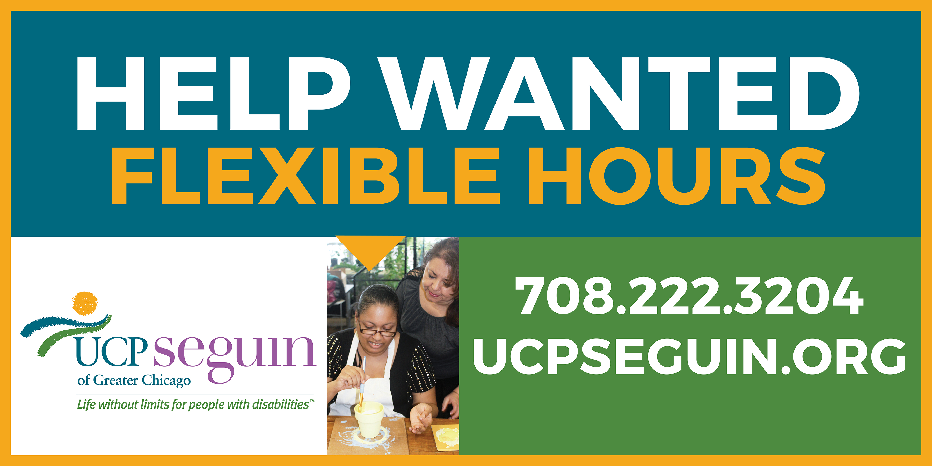 UCP Seguin Of Greater Chicago, Serving People With